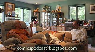Don Rosa e Frank Stajano - photo (c) Frank Stajano - click
