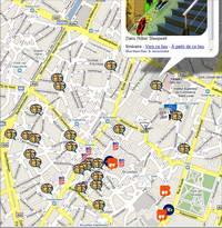 Bruxelles a Fumetti su Google Maps
