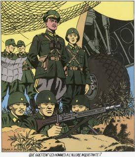 Espadon 1 by Jacobs - Olrik come Rommel - pag43