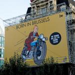Tintin a  Bruxelles 2011