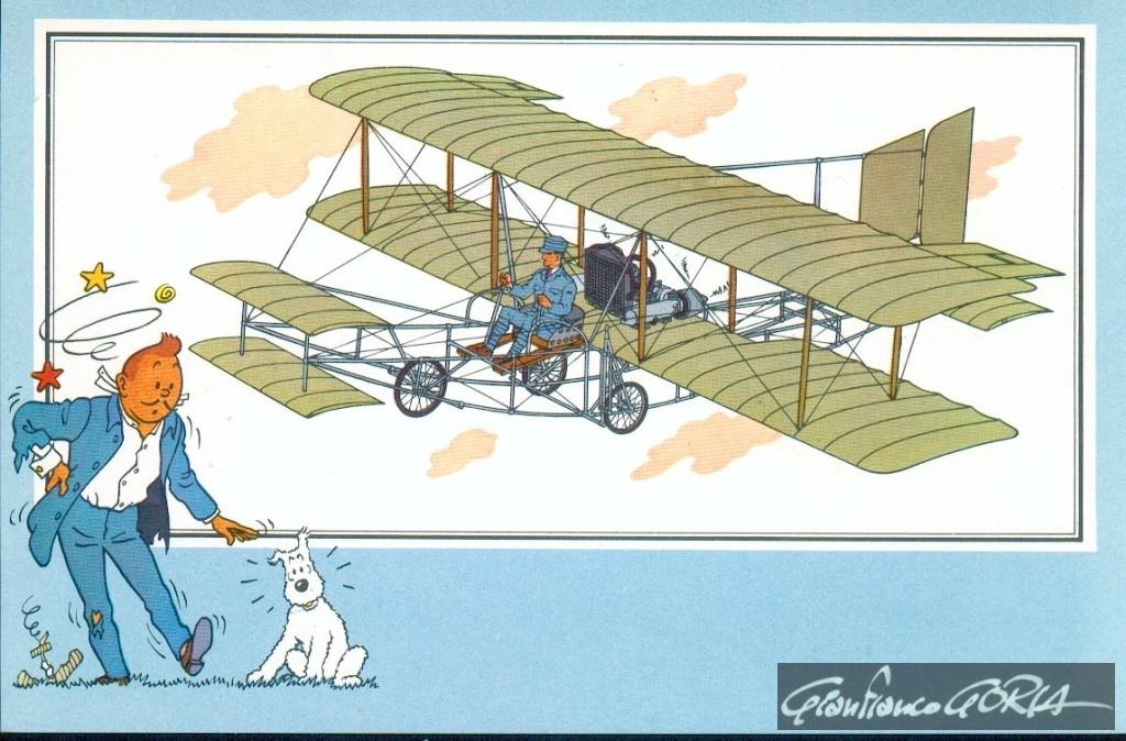 38 biplanino Faccioli 1910 Italia