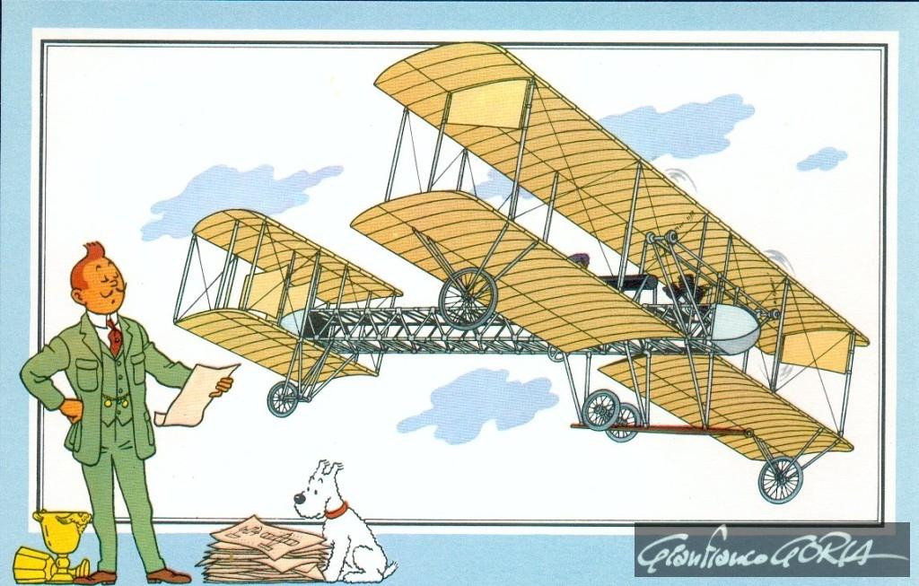 40 monoplano CA 1 di Gianni Caproni 1910 Italia