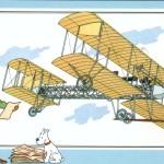 Tintin volava in Italia