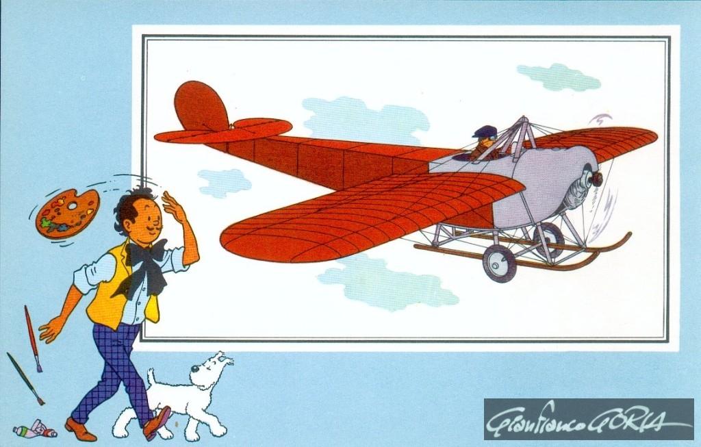 52 monoplano Gabardini 1913 Italia