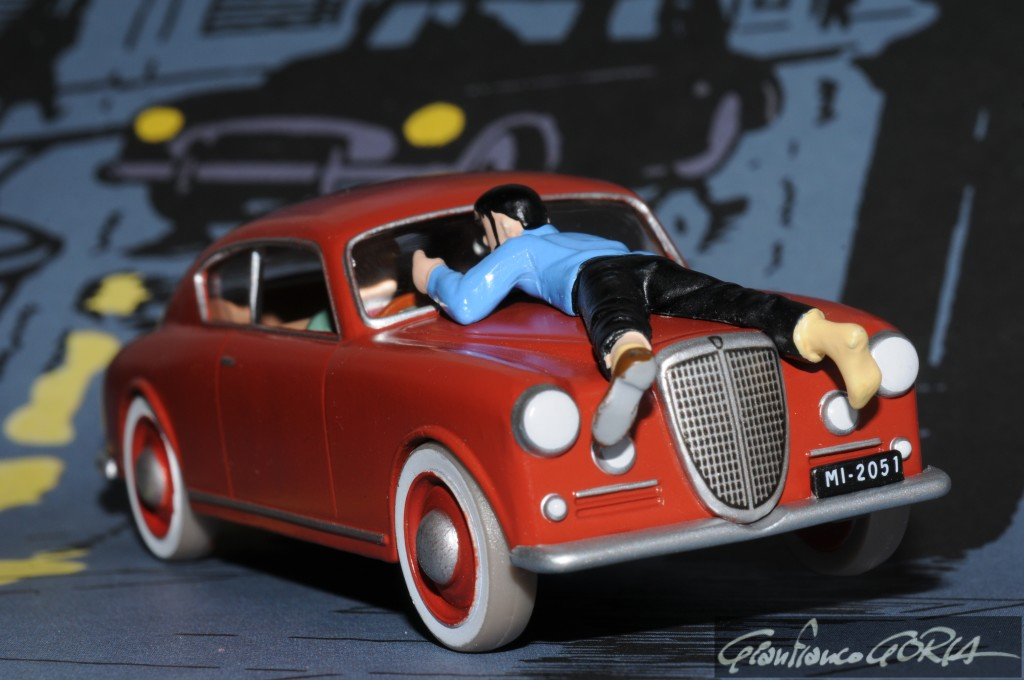 DSC_8034 Haddock - Affaire Tournesol - Lancia Aurelia 1953