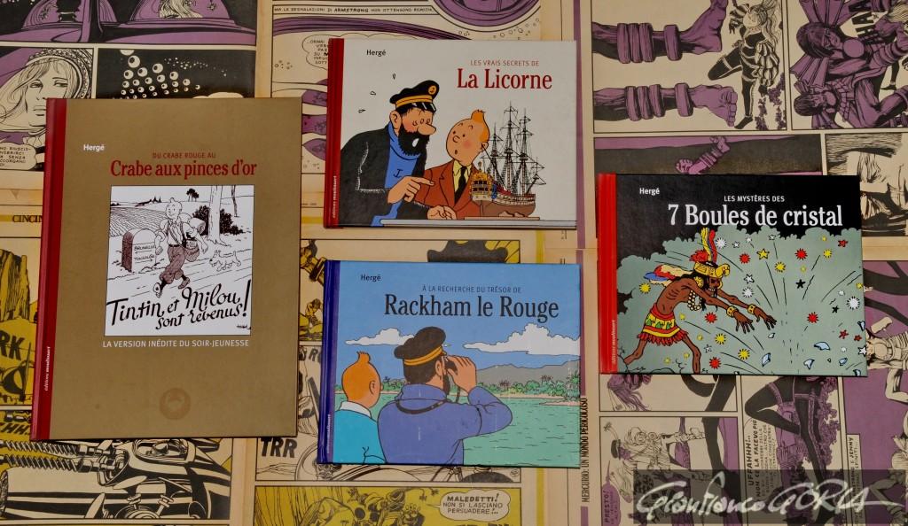 Tintin in guerra su Crepax Off-Side