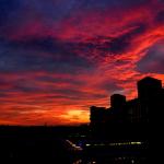 Albe e tramonti di fuoco