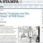 Will Eisner su La Stampa con Chiaverotti