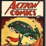 Superman salva la casa di due anziani coniugi