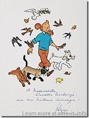 TintinOriginaleAnimaliPiasa2010 - sì, certo, il copyright è di Hergé/Moulinsart, ovvio