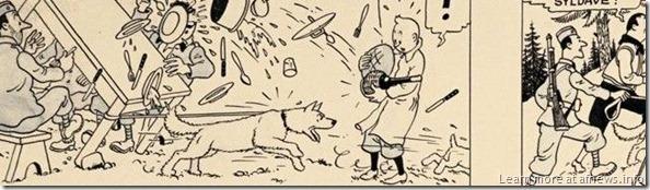 TintinOriginaleOttokar2 - il copyright naturalmente è di Hergé/Moulinsart