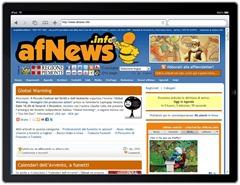 afNews su iPad