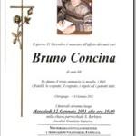 I funerali di Bruno Concina