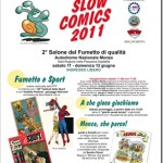 11 giugno: arriva Slow Comics 2011 a Monza!