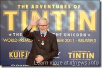 Ancora foto da Bruxelles, con Reali, Tintin, Spielberg…