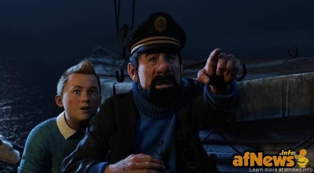 Tintin-Haddock-Spielberg