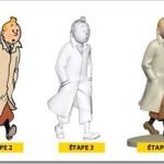 Le statuette di Tintin da collezionare