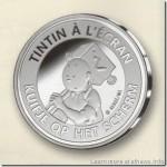 Dalla Zecca del Belgio una moneta per il film di Tintin