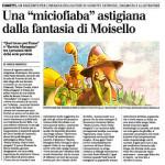 """Le Miciofiabe su """"La Nuova Provincia"""""""