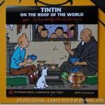 Con Tintin il Tibet in mostra vicino a Bruxelles