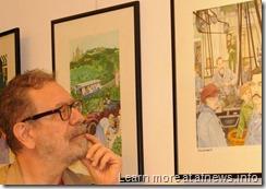 Cinzia Ghigliano in mostra: foto
