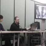 Marco Natale: lezione dimostrativa a Torino Comics 2013