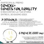 Concorso: ComiX4= Comics for Equality