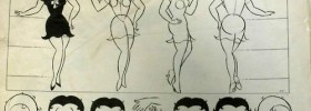 Betty Boop model sheet