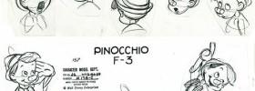 Pinocchio model sheet