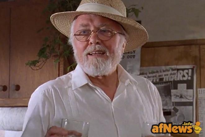 Attenborough nei panni del miliardario John Hammond in 'Jurassic Park'