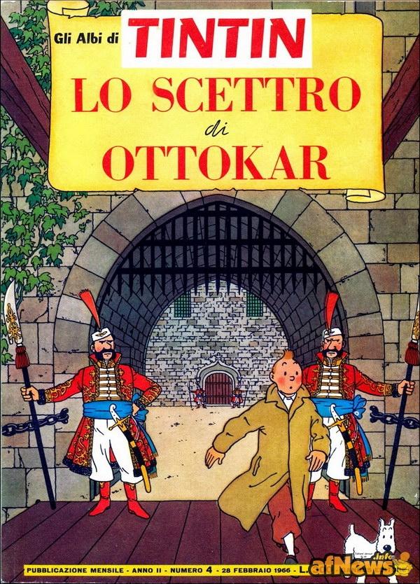 Gandus - Gli albi di Tintin 04 - 600