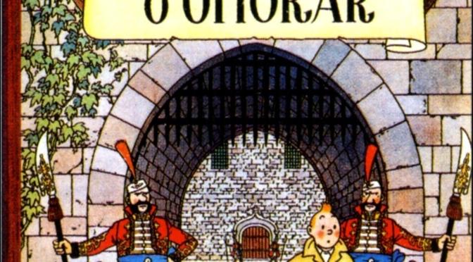 Tintin - Cino del Duca - Ottokar