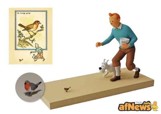 Tintin e il pettirosso