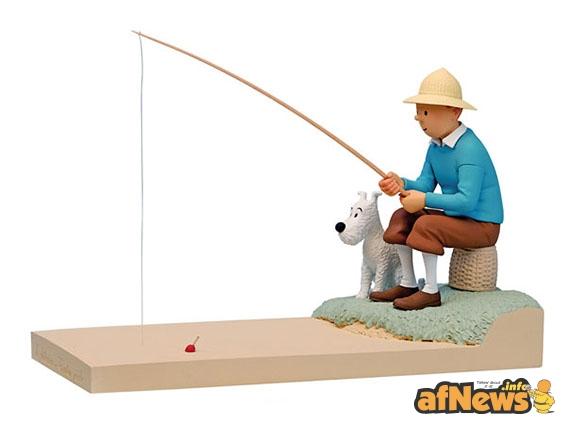 Tintin pesca