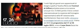 Giffoni Experience 2015, al via il contest per la creazione del manifesto