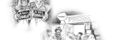 La BD est Charlie - La professione rende omaggio ai disegnatori uccisi