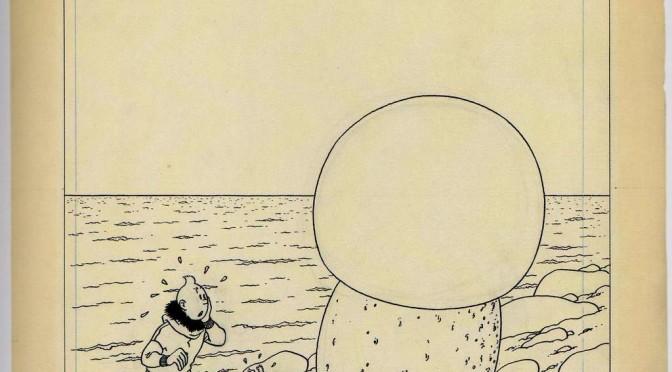 2,5 milioni di euro per questa tavola di Tintin!