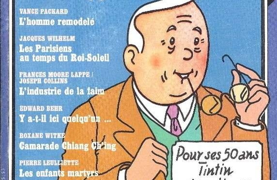 """Tintin si spiega """"di persona"""" e cita Wolinski"""