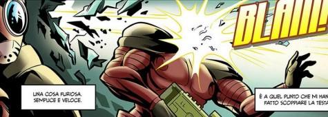 Evo-Z free comic visto @torinocomics 2015