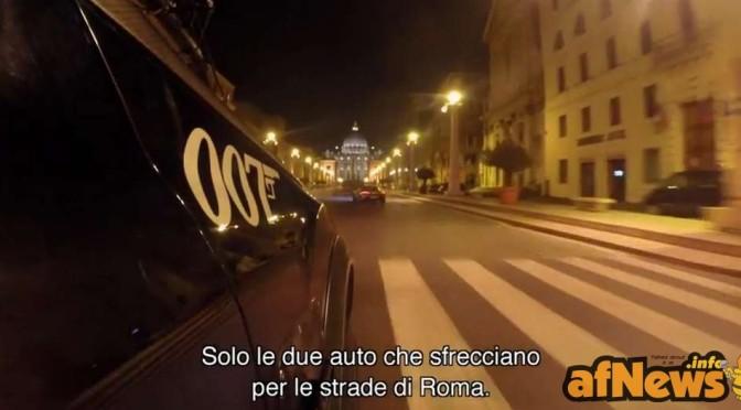 007 Spectre: le immagini ufficiali dal set di Roma!