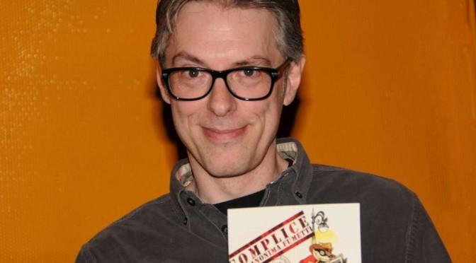Ortolani confessa a Tiberga: Rat-man è alla fine… @torinocomics 2015