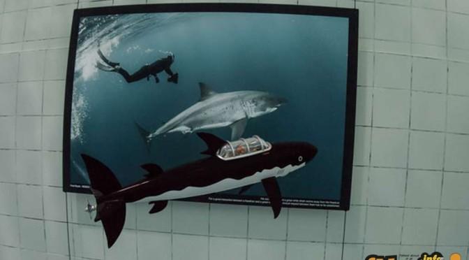 Tintin sottomarino col sommergibile di Girasole