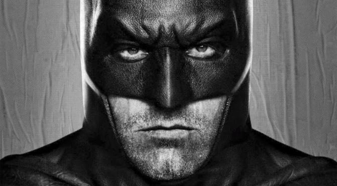 Batman v Superman Poster: Affleck