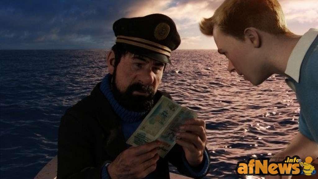 Il capitano Haddock legge le ultime su Wikileaks...
