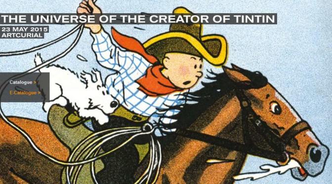 Oggi, Artcurial vende Hergé, a caro prezzo, come al solito?