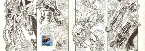 Gli albi filatelici della DC Comics!