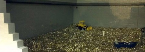 Fan-Built Lego Scrooge McDuck Money Bin Is Three Cubic Acres Of Amazing