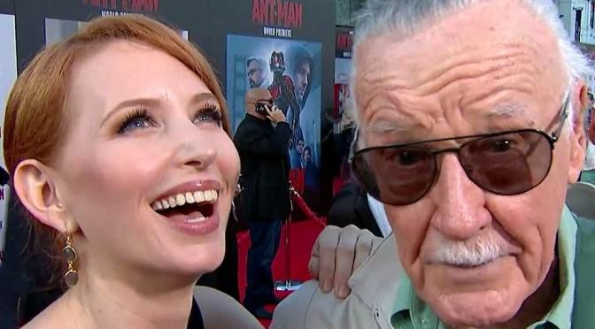 Stan Lee esce dall'ospedale in tempo per la prima di Ant-Man