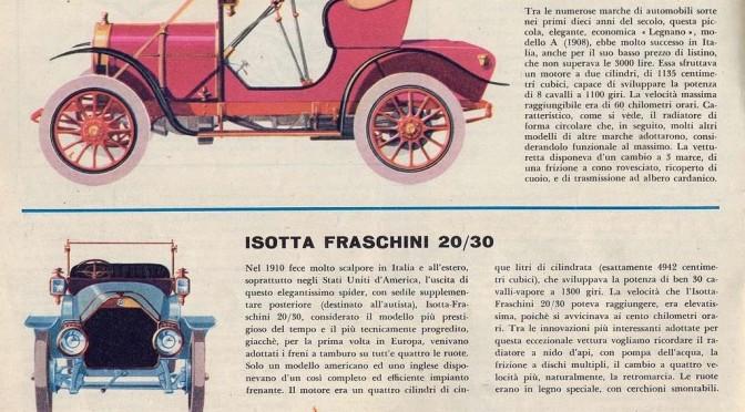 Legnano mod. A (1908) – Isotta Fraschini 20/30