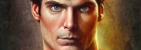 Wolfinger's Stunning Christopher Reeve Superman Portrait Debuts in the CBR Speakeasy